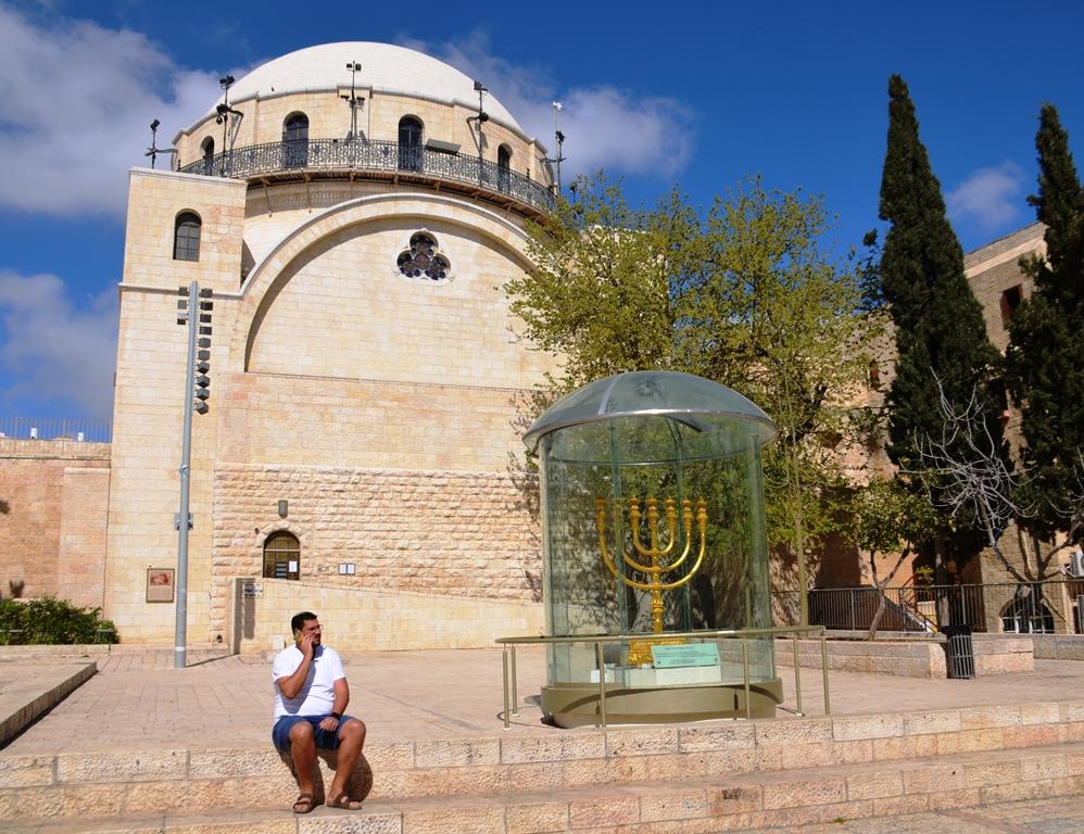 Jerusalem Israel Hurva Synagogue Old City