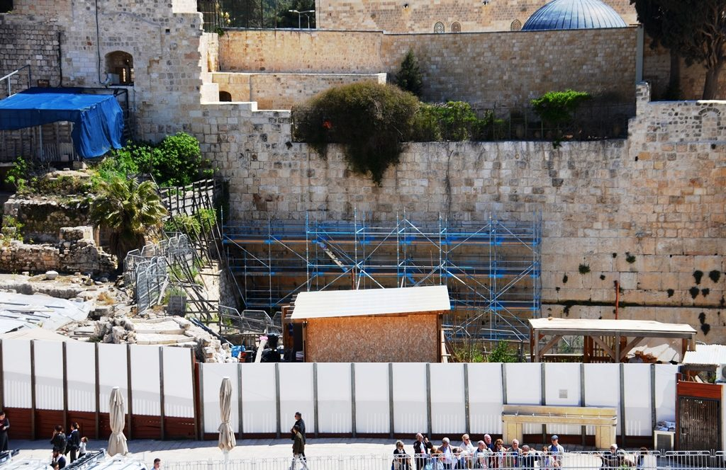Jerusalem Israel view of Kotel