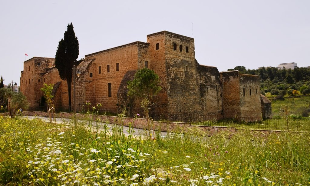 Monastery in Valley of Cross on Passover and Easter in Jerusalem