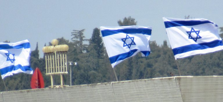 Jerusalem: Flags, Flames, Flyovers, Flowers and Finally Fireworks