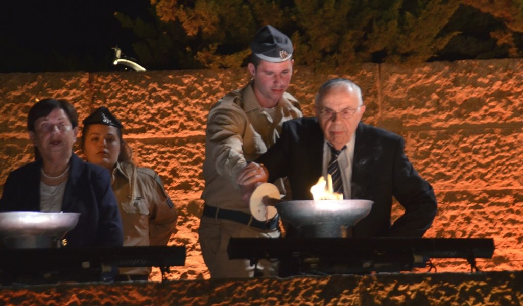 Light a torch at Yad Vashem for Yom HaShoah