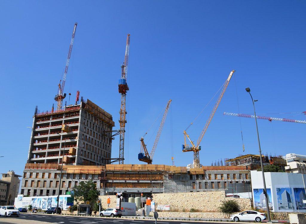 Construction in Jerusalem Israel