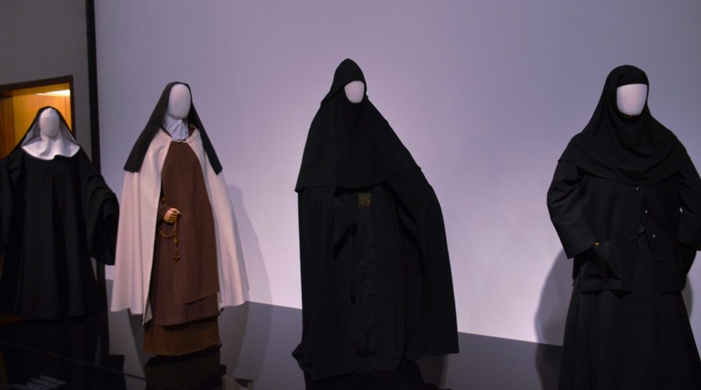 Israel Museum veiled women display Christian Nuns