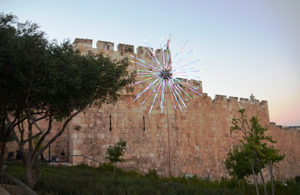 Light Festival in Jerusalem