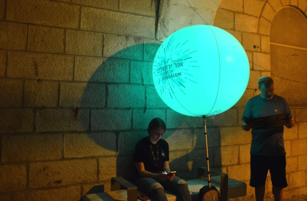 Festival of Light in Jerusalem