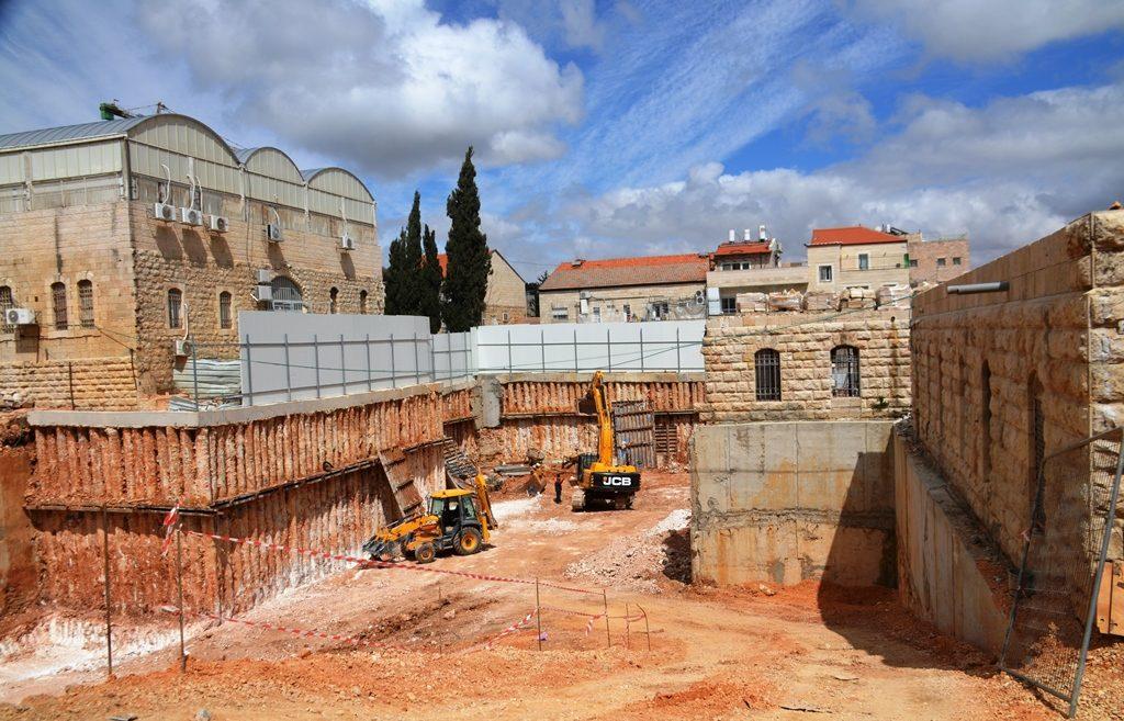 Building site in Jerusalem Israel