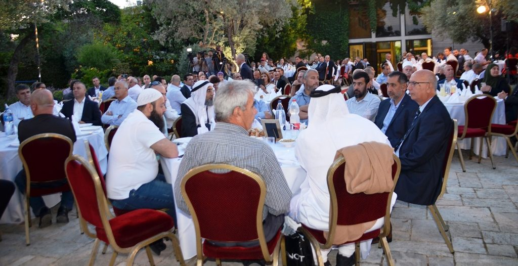 President Rivlin hosted iftar meal at Beit Hanasi