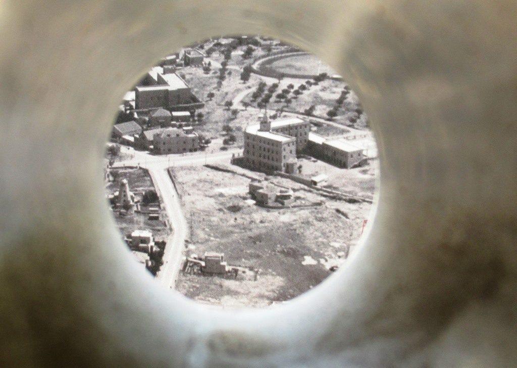 Old photo of Ben Maimon Street Jerusalem Israel