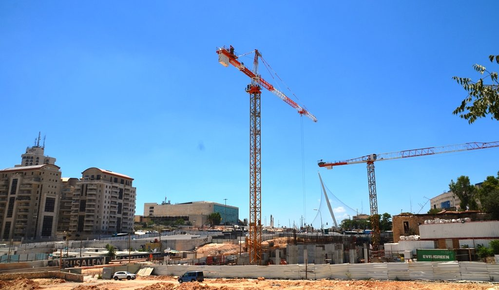 Construction for Jerusalem Gateway