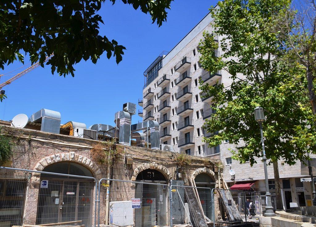 Jerusalem Israel Agrippas Street new building