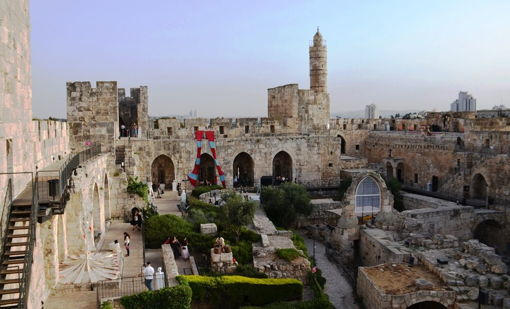 Jerusalem Israel Tower of David for Overall fashion event