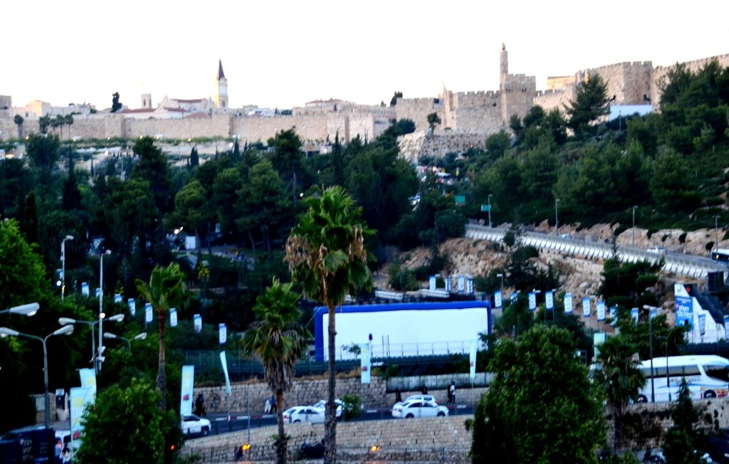 Jerusalem Film Festival in Sultan's Pool