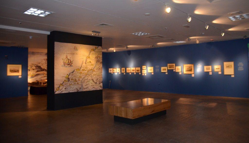 Bible Lands Museum Jerusalem exhibit on Ports 1800s
