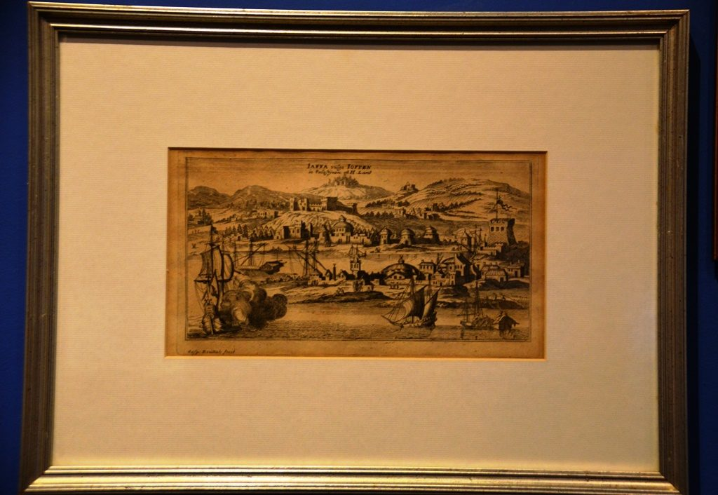 BLMJ image of Jaffa SeaPort in 1677