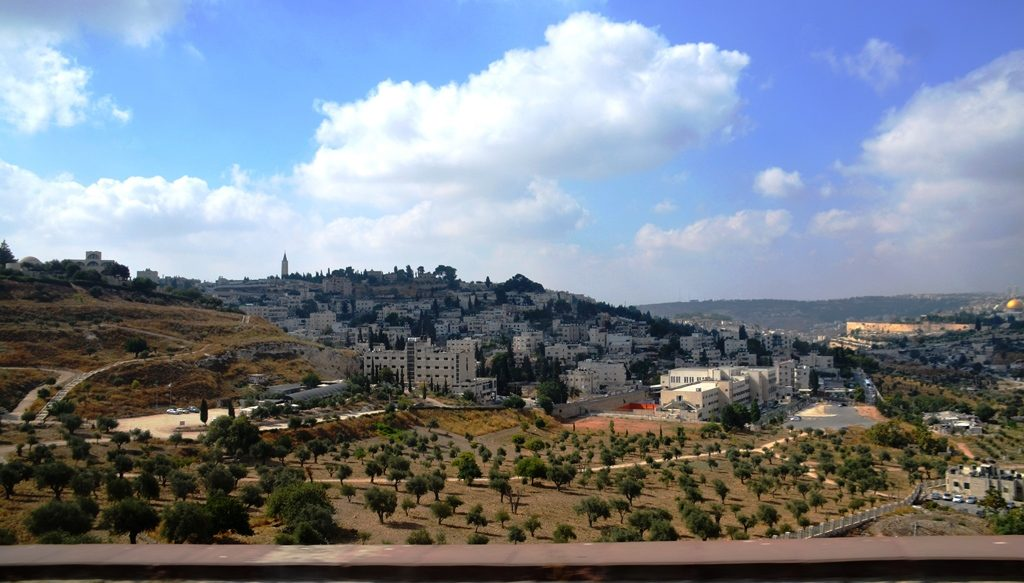 View of Zurim Valley Jerusalem Israel