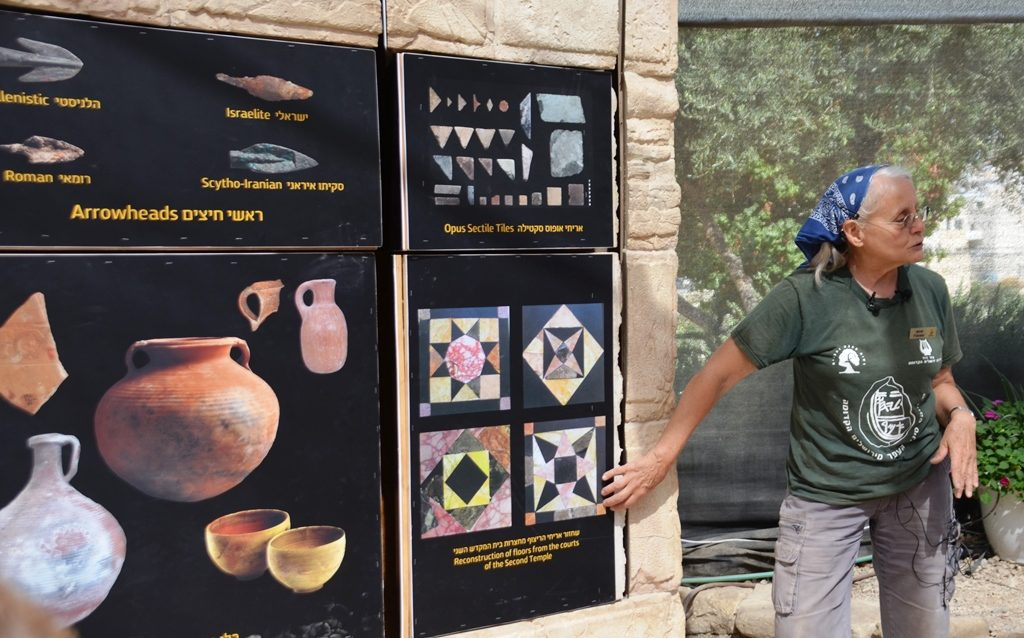 Sifting project finds in new center at Zurim Valley