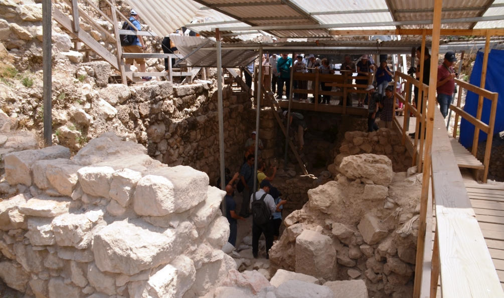 Givati Parking lot excavation