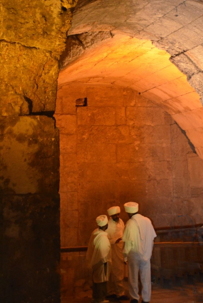 Before Tisha B'Av Kez, Ethiopian religious leaders visit Jerusalem to pray