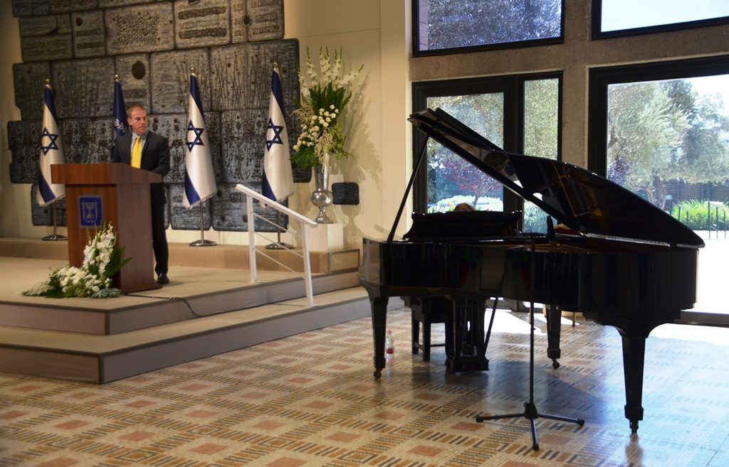 Beit Hanasi piano played by 12 year old boy with autism