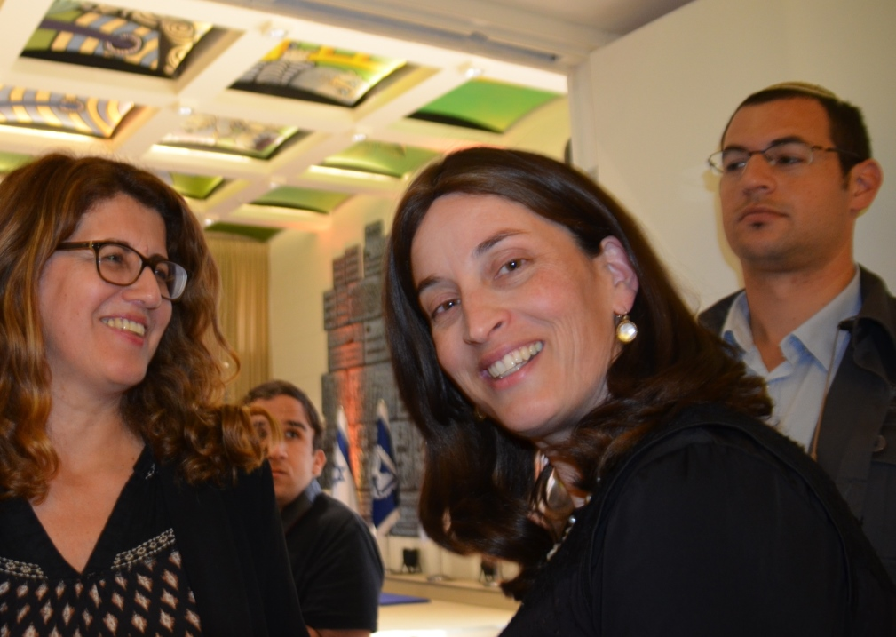 President Rivlin Chief of Staff Rivka Ravitz at Beit Hanasi