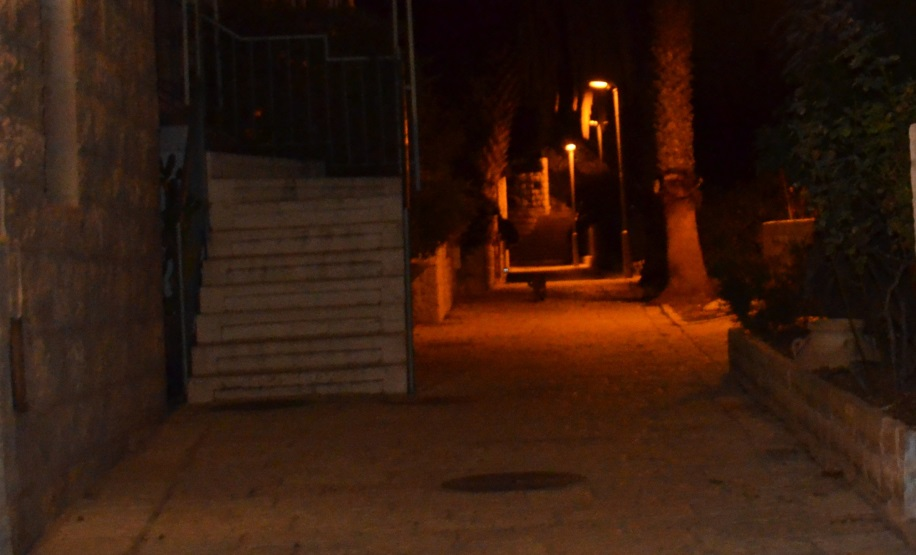 Yemin Moshe Jerusalem Israel at night
