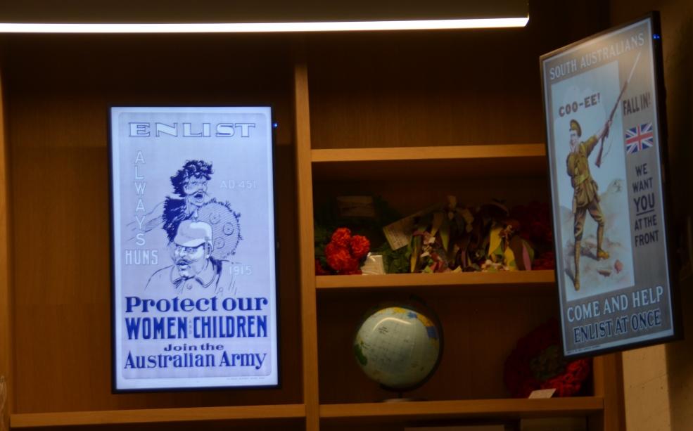 ANZAC Museum in Beer Sheva posters