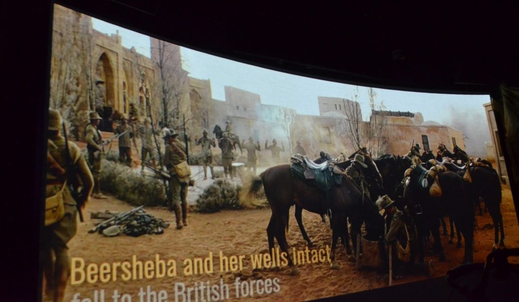 ANZAC cavalry arrive in Beer Sheva, and reach wells for water