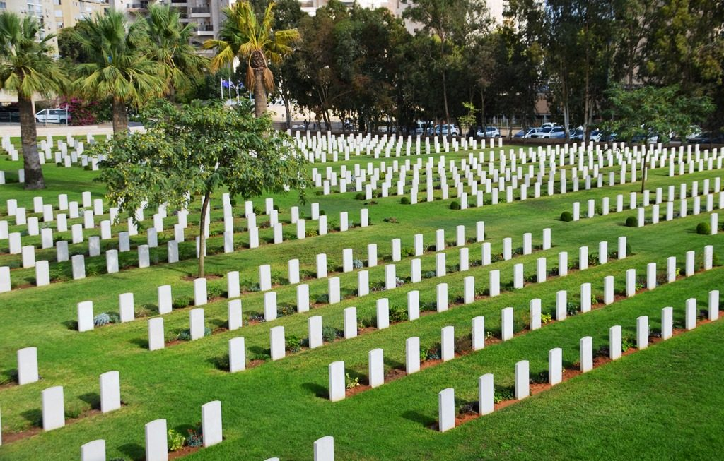 ANZAC and British cemetery in Beer Sheva