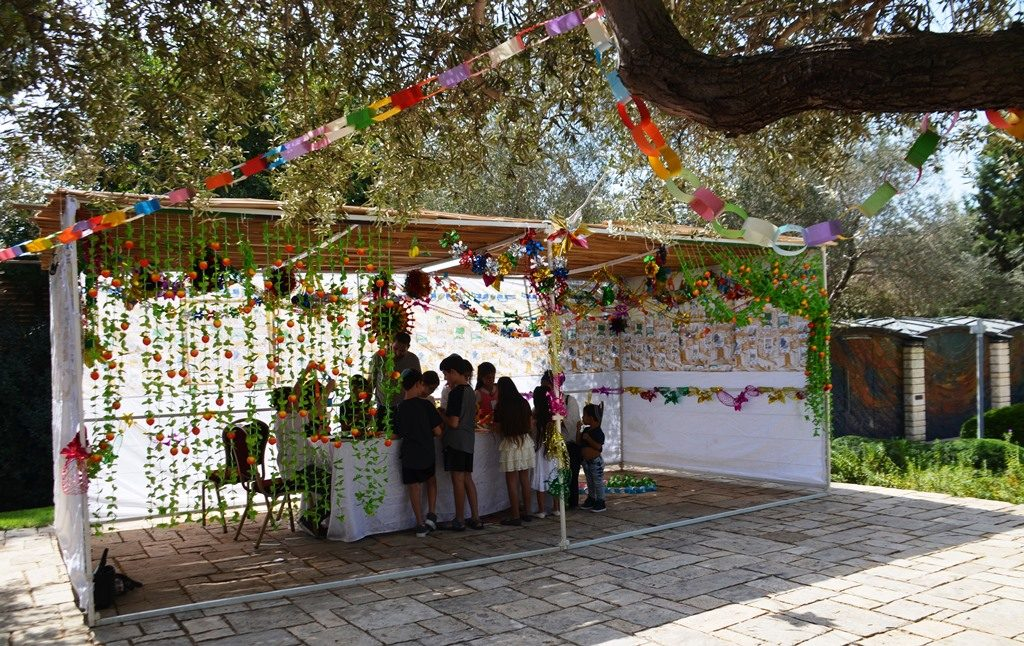 Sukkah at Beit Hanasi for the Israel President