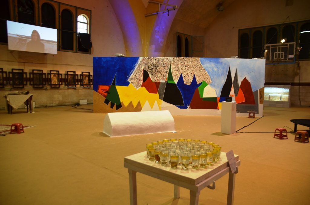 Jerusalem YMCA Ziara Moroccan exhibit