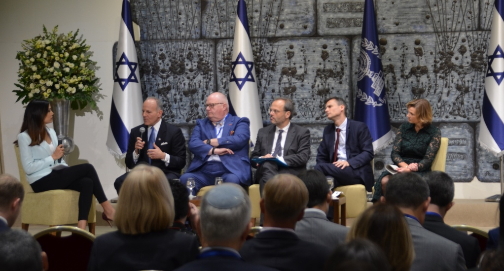 Panel on antisemitism at Beit Hanasi
