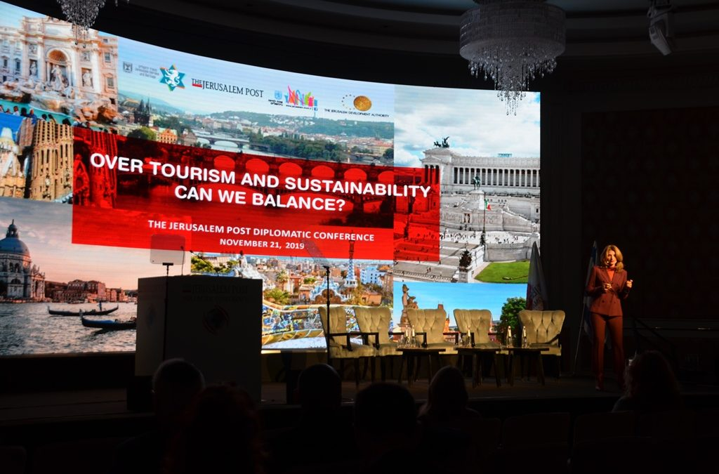 Tourism Ilanti Melchior sustainable at J Post Diplomatic Conference in Jerusalem