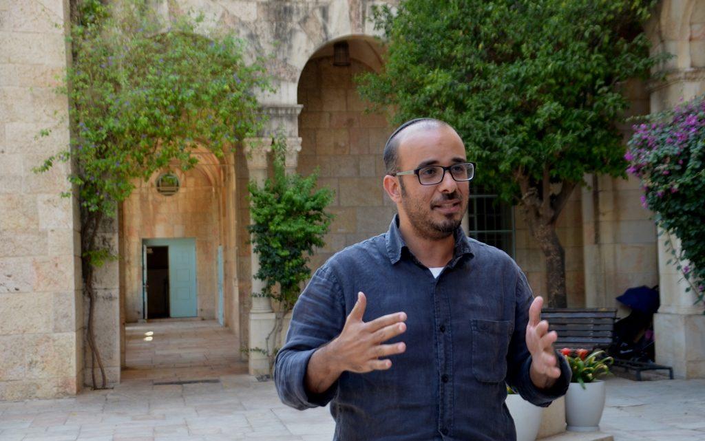 Rafi Ozeri at YMCA for Jerusalem Biennale