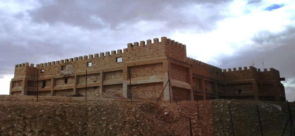 Kasser Al Yahud area building of old