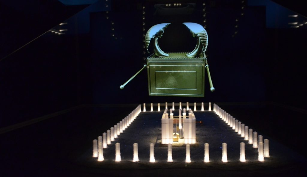 Ancient tabernacle of Shiloh and Jewish holy ark in new hologram movie