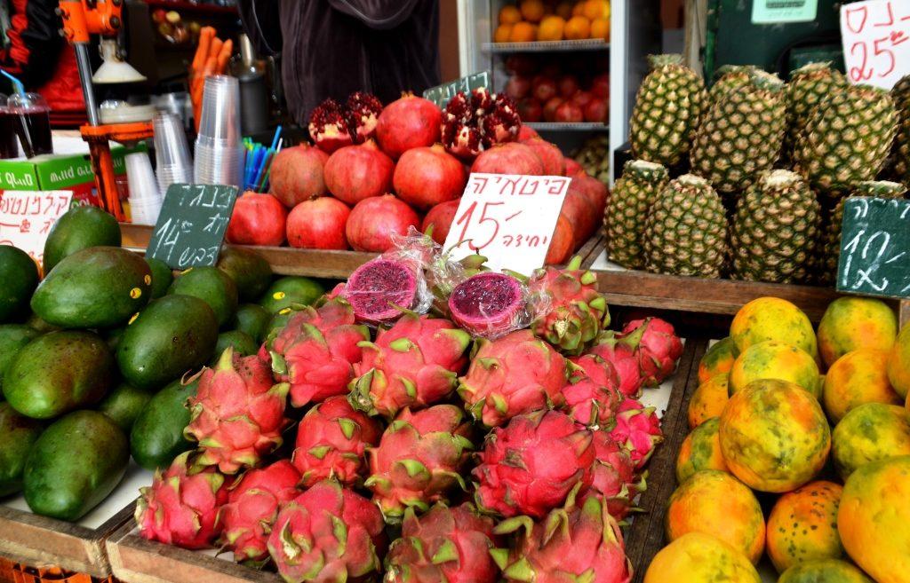 Fruit in Jerusalem shuk, Makane Yehuda Market