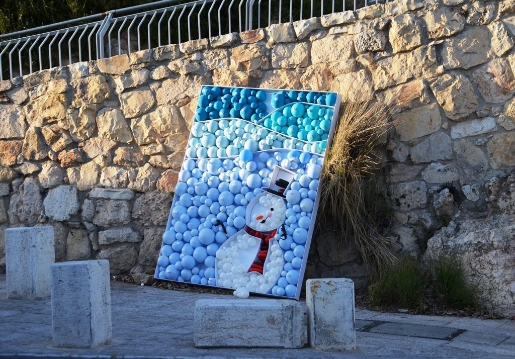Jerusalem Snowman