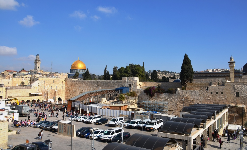 View of Kotel and Har Habayit