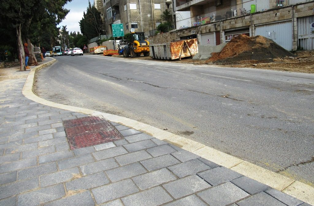 Construction of new sidereal in Jerusalem Israel