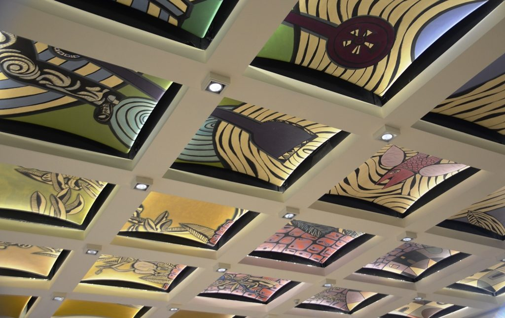 Israeli President Formal hall ceiling