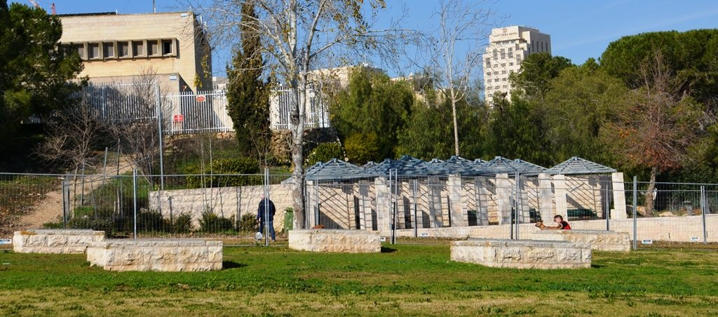 Jerusalem Israel dog park moved for Leningrad Memorial dedication