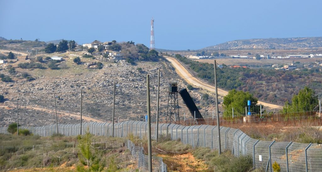 Hezbollah in Lebanon as seen from Israel