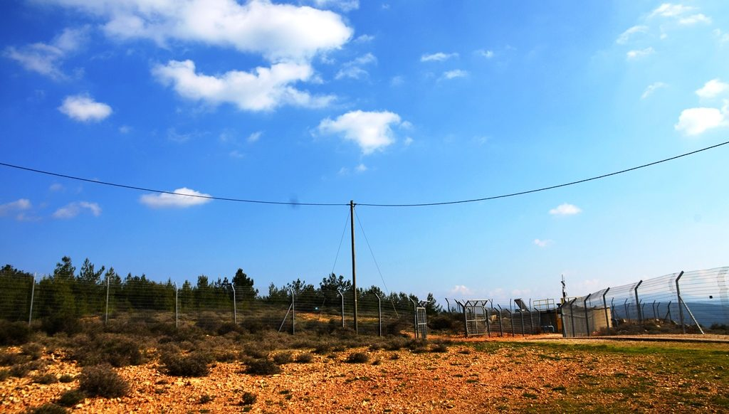 Upper Galil Israel near Lebanon