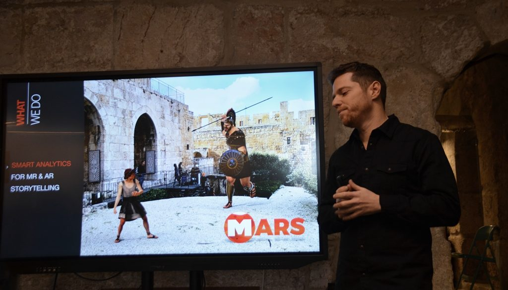 MARS launch of interactive tour option at Tower of David