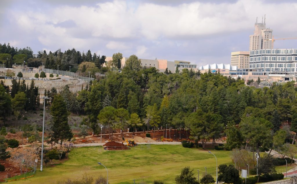 Jerusalem Park Gan Sacher