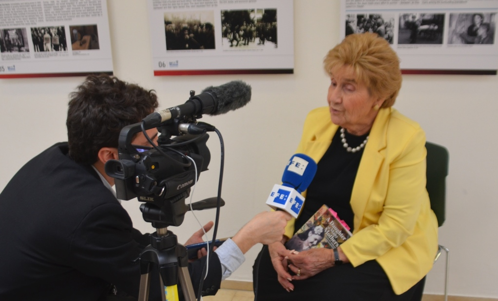 Interview of Rena Quint a Holocaust child survivor