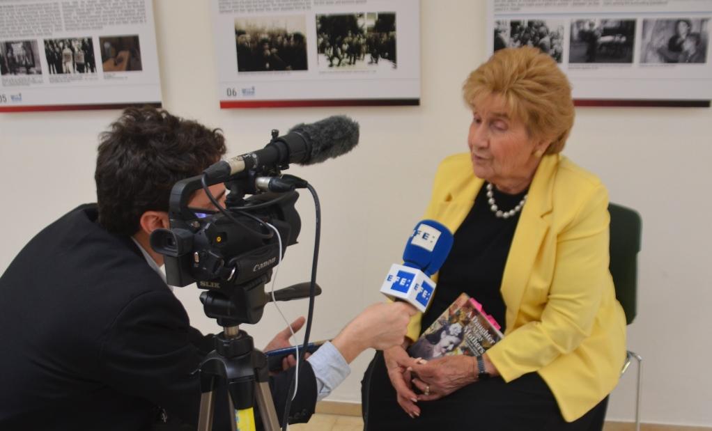 Interview of Rena Quint a Holocaust child survivor