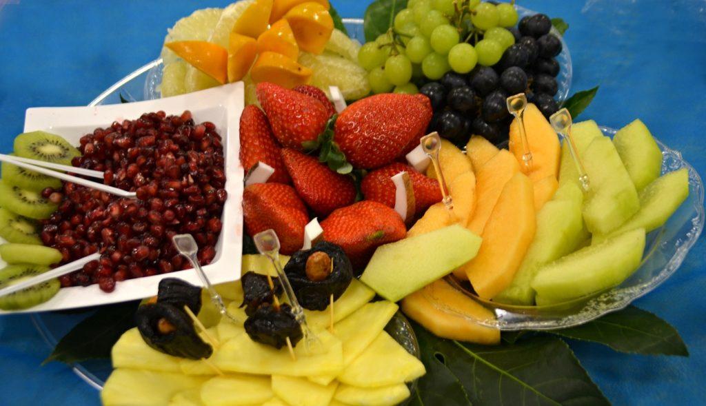 Tu Beshevat fruit platter