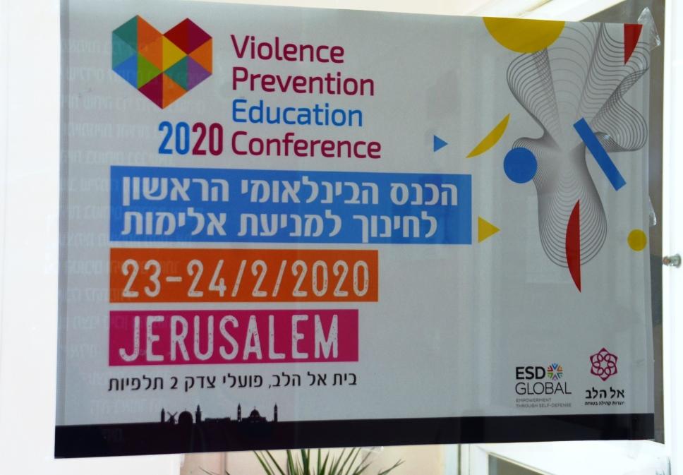 Jerusalem Israel hosting an international conference on violence prevention education
