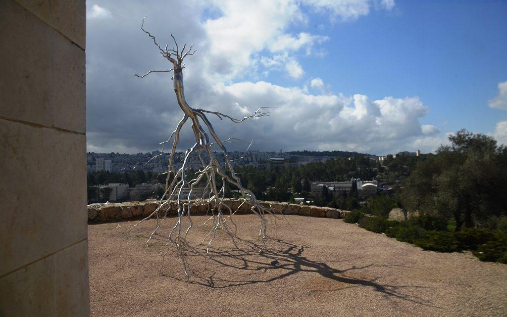 Sculpture outside at Jerusalem Israel Museum